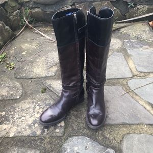 Women's Enzo Angiolini  Leather Knee High Boots
